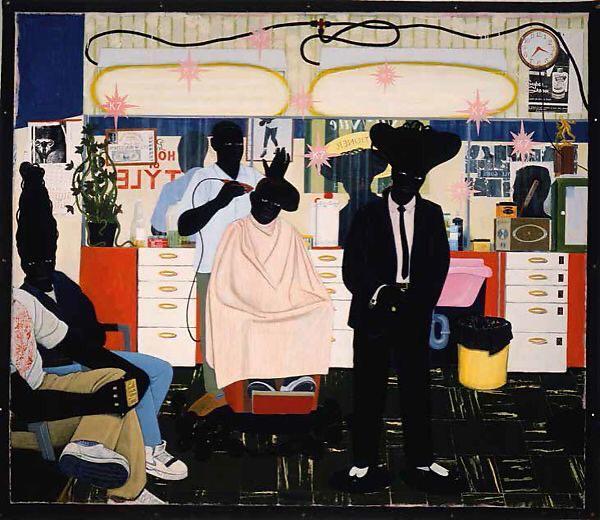 Kerry James Marshall. De Style. 1993